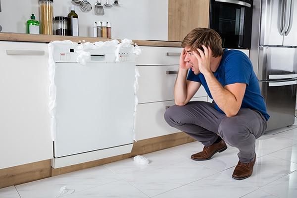 Dishwasher repair problems