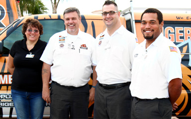 Tiger Mechanical Service Team