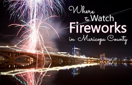 Fireworks in Gilbert Phoenix Tempe & Scottsdale