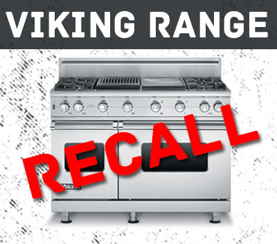 Viking Range Recall
