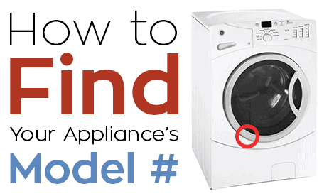 How to FInd Your Appliances Model Number