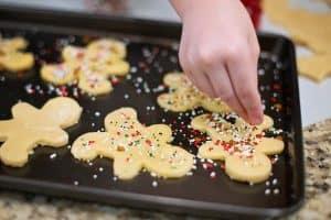holiday kitchen prep