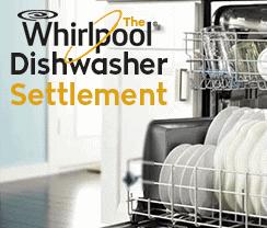 Whirlpool Dishwasher Settlement
