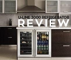 U-Line Modular 3000 Series Undercounter Refrigerator Review Small