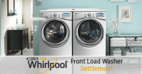 Whirlpool front load washer Settlement