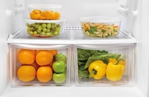 what to store in refrigerator drawers