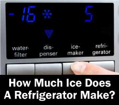 how-much-ice-does-a-refrigerator-make