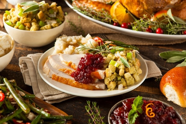 thanksgiving kitchen prep