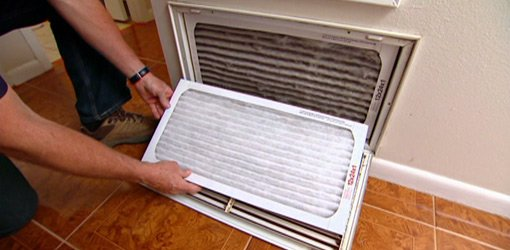 how often to change air conditioner filter in house