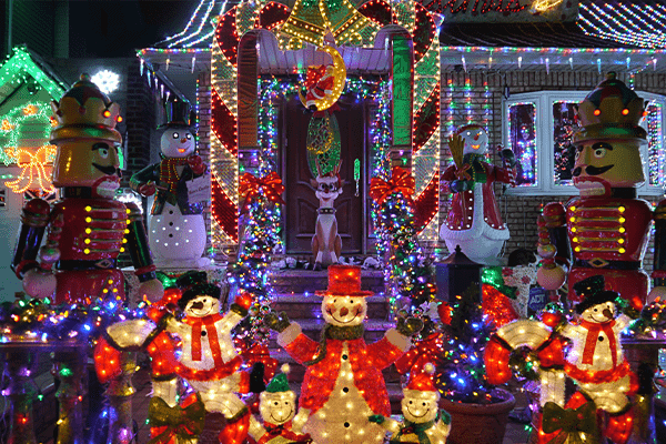 best neighborhoods to see christmas lights in gilbert