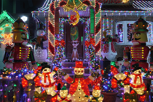 best neighborhoods to see christmas lights in gilbert