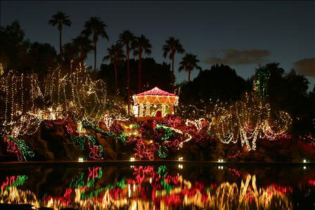 gilbert christmas light displays