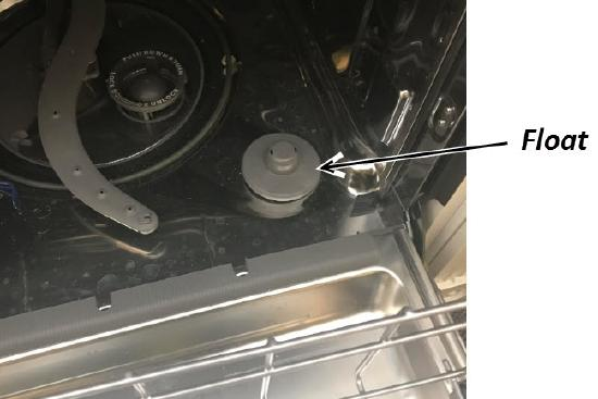 GE dishwasher not filling with water