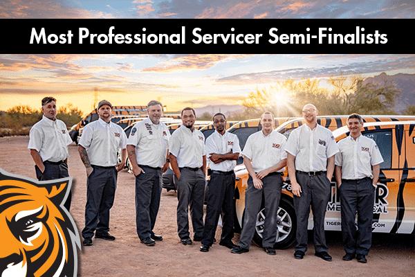 most professional servicer 2020 semi-finalist