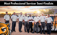 most professional servicer 2020 semi-finalist