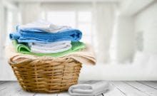 disinfect clothes in washer