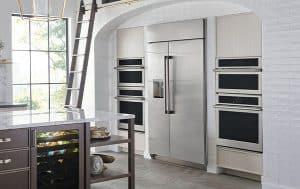 GE Monogram refrigerator built-in