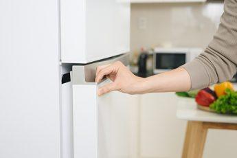 GE refrigerator door won't close