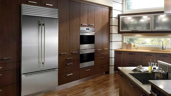 what is a built-in refrigerator