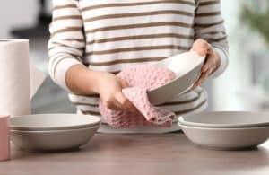 LG dishwasher leaves dishes wet