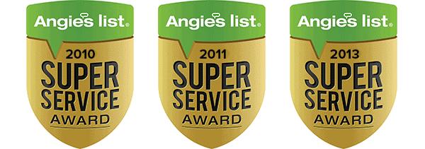 angies list super servicer award tiger mechanical