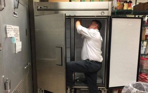 experienced appliance repair technician