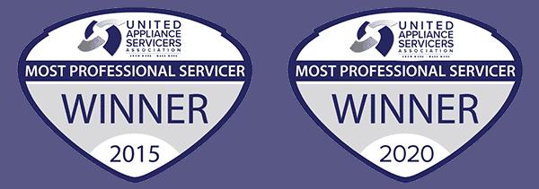 most professional servicer award winner