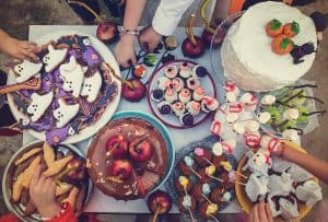 easy Halloween treats for a party